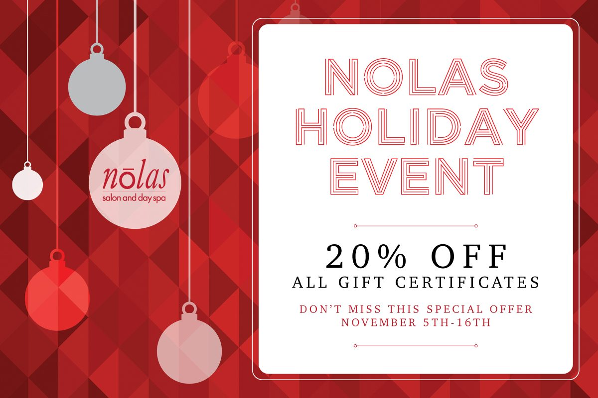 Nolas Holiday Event