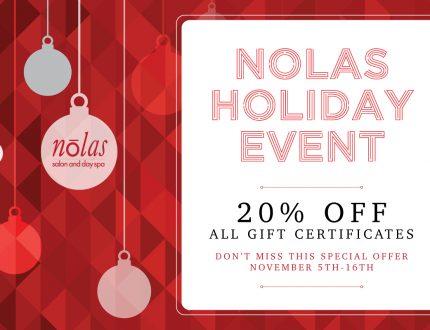 Nolas Holiday Event